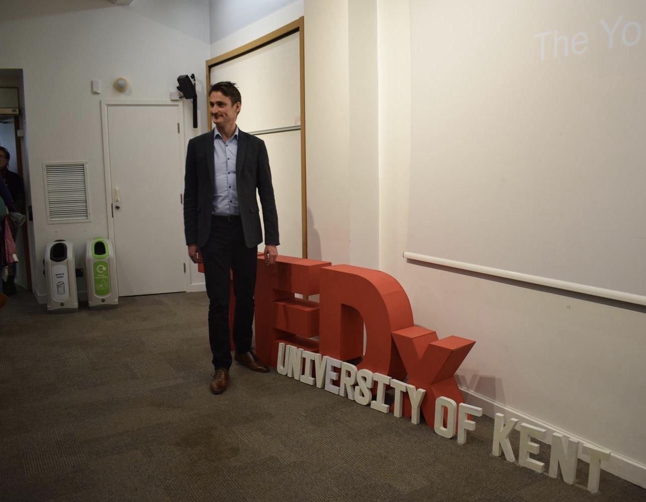 TEDx public speaking