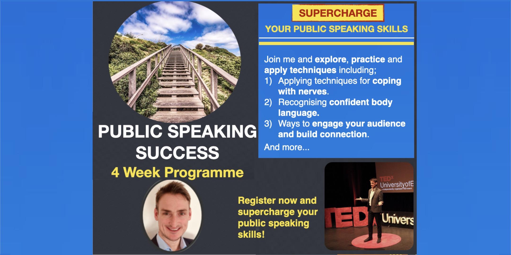Public Speaking Success Programme