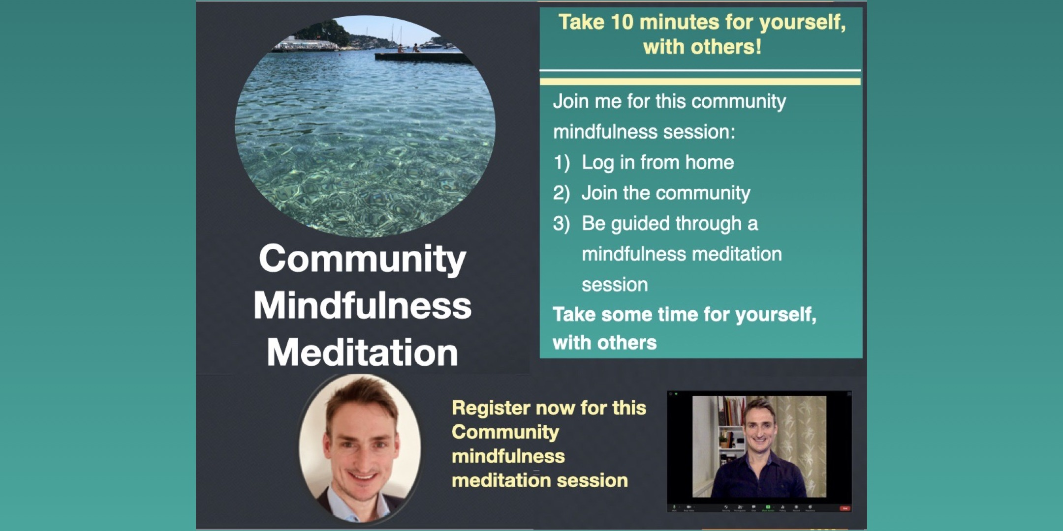 Community Mindfulness Meditation with David Murray
