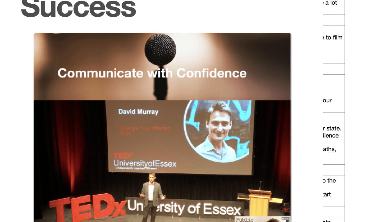 Public Speaking Success Top Tips